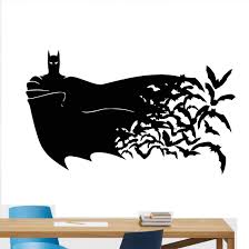 Amazon Com Carolgreydecals Batman Wall Decal Boy Name Superhero Nursery Baby Quote Children Girl Gift Stencil Vinyl Sticker Home Bedroom Decor Art Poster Mural 22 X 37 388xx Kitchen Dining