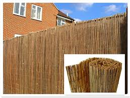 Natural Peeled Reed Screening Roll Garden Screen Fence Fencing Panel 4m 1m X 4m Amazon Co Uk Garden Outdoors
