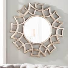 brylee traditional sunburst mirror