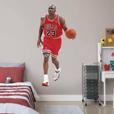 Fathead Michael Jordan Life Size Officially Licensed Nba Removable Wall Decal Walmart Com Walmart Com