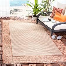natural terracotta indoor outdoor rug