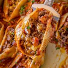 cheesy taco stuffed ss dinner