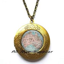 charming locket necklace australia map