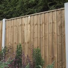 Forest Garden Pressure Treated Contractor Panel 1 8m Chestnut Brown