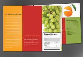 tri fold brochure template for health