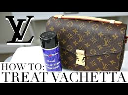how to treat protect vachetta leather