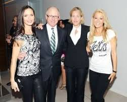 Georgina Chapman, Woody Johnson, Susan Plagemann, Suzanne Johnson    Georgina, New york jets, Fan apparel