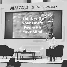 """quotes of the day """"think your meditasi dengan hati"""