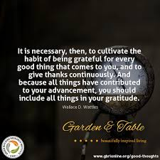it is necessary to cultivate the habit of being grateful quotes