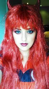 halloween makeup devil mutters