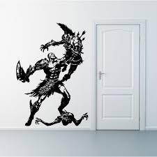 Kratos God Of War Vinyl Wall Art Decal