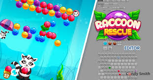 Bubble Shooter Raccoon Rescue + EDITOR | Systems | Unity Asset Store