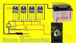 easy mini lifier circuit diagram