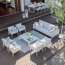 modern luxury garden furniture set