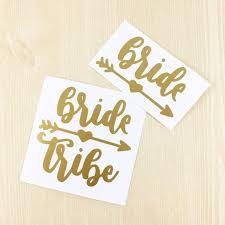 Bridal Tribe Decal Bride Decal Bridesmaid Decal Wine Glass Decals Wedding Decal Wine Glass Decals Bride