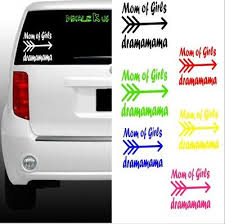 Mom Of Girls Draaaaama Vinyl Decal Sticker Yeti Car Window Cute Love Awesome 5 50 Picclick