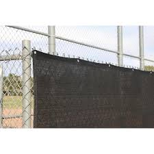 Ncsna 6 Ft X 11 67 Ft L Black Hdpe Chain Link Fence Screen In The Chain Link Fence Screens Department At Lowes Com