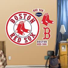 Fathead Boston Red Sox Logo Wall Decals