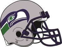Seattle Seahawks Helmet Nfl Vinyl Decal Sticker Sizes
