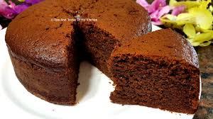 eggless chocolate cake recipe in cooker