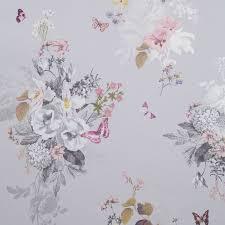 botanical bouquet grey wp clarke clarke