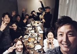 lee jung jin takes a photo yoon a and ji chang wook in the