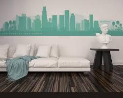 Vinyl Wall Decal Los Angeles Etsy