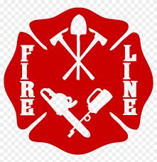 Wildland Firefighter Fire Line Maltese Cross Decal Wildland Firefighter Car Sticker Free Transparent Png Clipart Images Download
