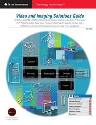 video and imaging solutions guide rev d