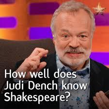 Dame Judi Dench Helps Graham Norton ...