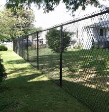 Black Vinyl Coated Chain Link Fence Black Chain Link Fence Chain Link Fence Fence