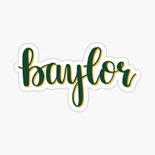 Baylor Stickers Redbubble