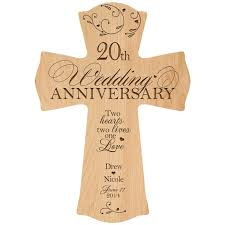 gifts for a 20th wedding anniversary