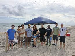 Embry-Riddle Office of Alumni Engagement - #EaglesHelp with Boca Raton  Beach Cleanup