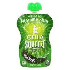 organic chia squeeze vitality snack