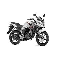 yamaha fazer fi 149cc marble white bike