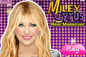 miley cyrus makeup game