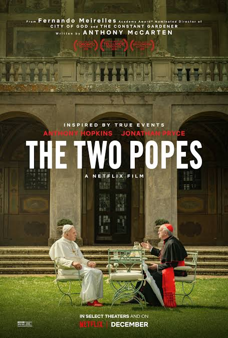 Image result for the two popes poster""