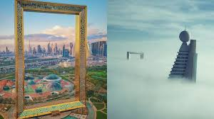 the best insrams of the dubai frame
