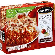 stouffers lasagna with meat sauce