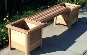 patio backyard cedar garden planter
