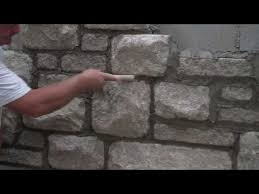 finishing mortar joints with arriscraft