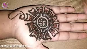 mehndi designs front palm