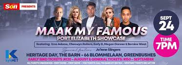 Bernice West - PORT ELIZABETH - Tickets Live Today Get... | Facebook