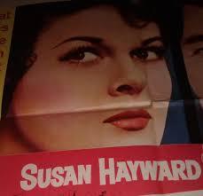 Susan Hayward Ada Dean Martin half sheet poster   Etsy