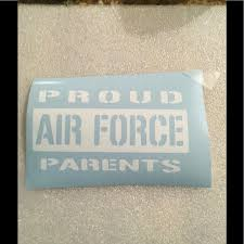 Other Air Force Parents Vinyl Decal Poshmark