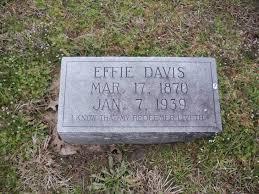 Effie Davis
