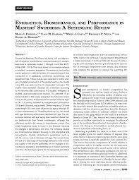 pdf energetics biomechanics and