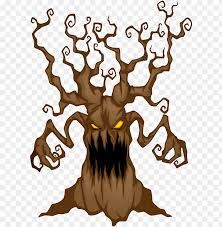 Halloween Tree Clipart At Getdrawings Scary Background Clip Art Png Image With Transparent Background Toppng