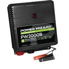 Buy Power Wizard Pw2000b Battery Electric Fence Charger 2 Joule Output Mega Depot